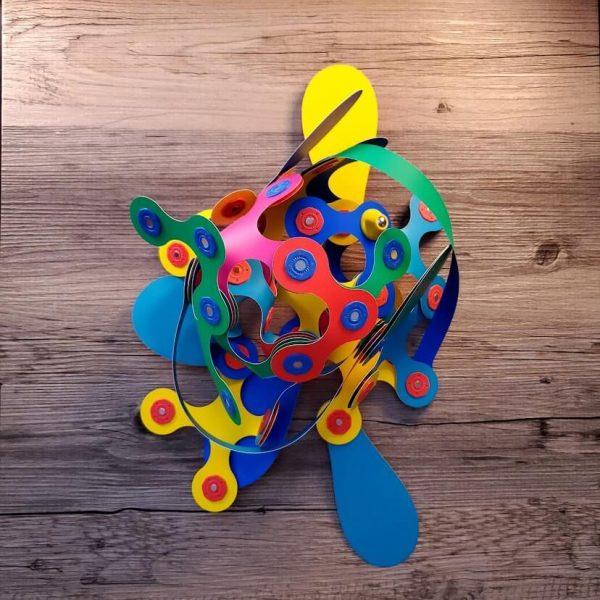 Clixo abstract jumble